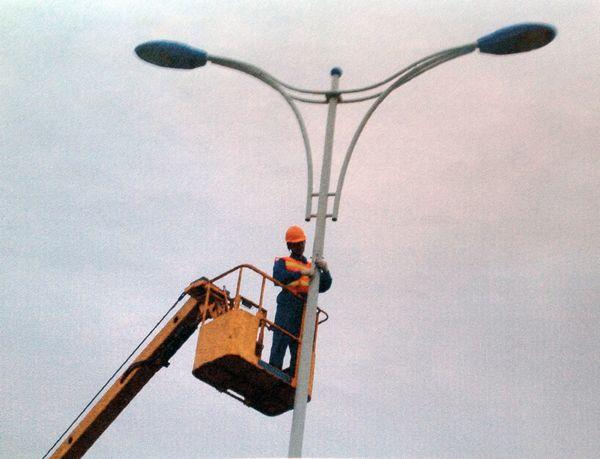 常州市西环二路道路照明工程 (4)